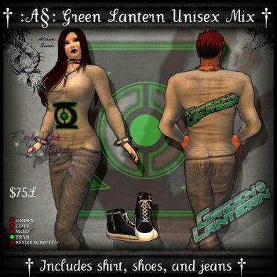 AS F.C Green Lantern Vendor