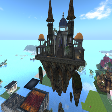 Snow and Krys' Floating Castle